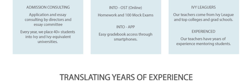 Why study the new SAT at Into Prep