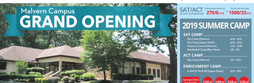 Malvern Campus grand open house