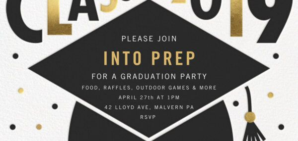 Malvern campus Grad party