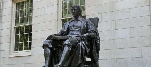 Sculpture of Harvard