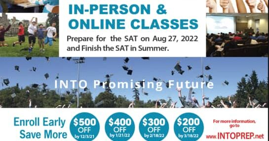 Summer Camp 2022 SAT/ACT INTO Prep