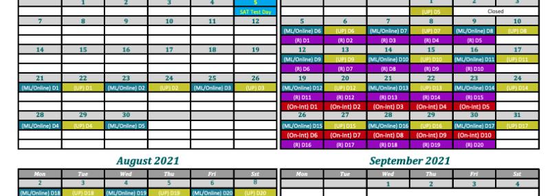 SAT Summer Camp 2021